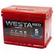 WESTA RED 60Ач п/п 640А 242x175x190
